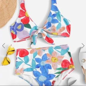 Shein high waisted bathing suit